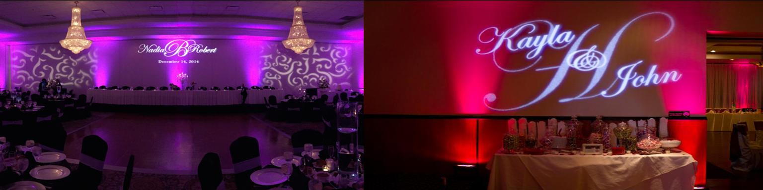 Up Lighting & Monogram Lighting